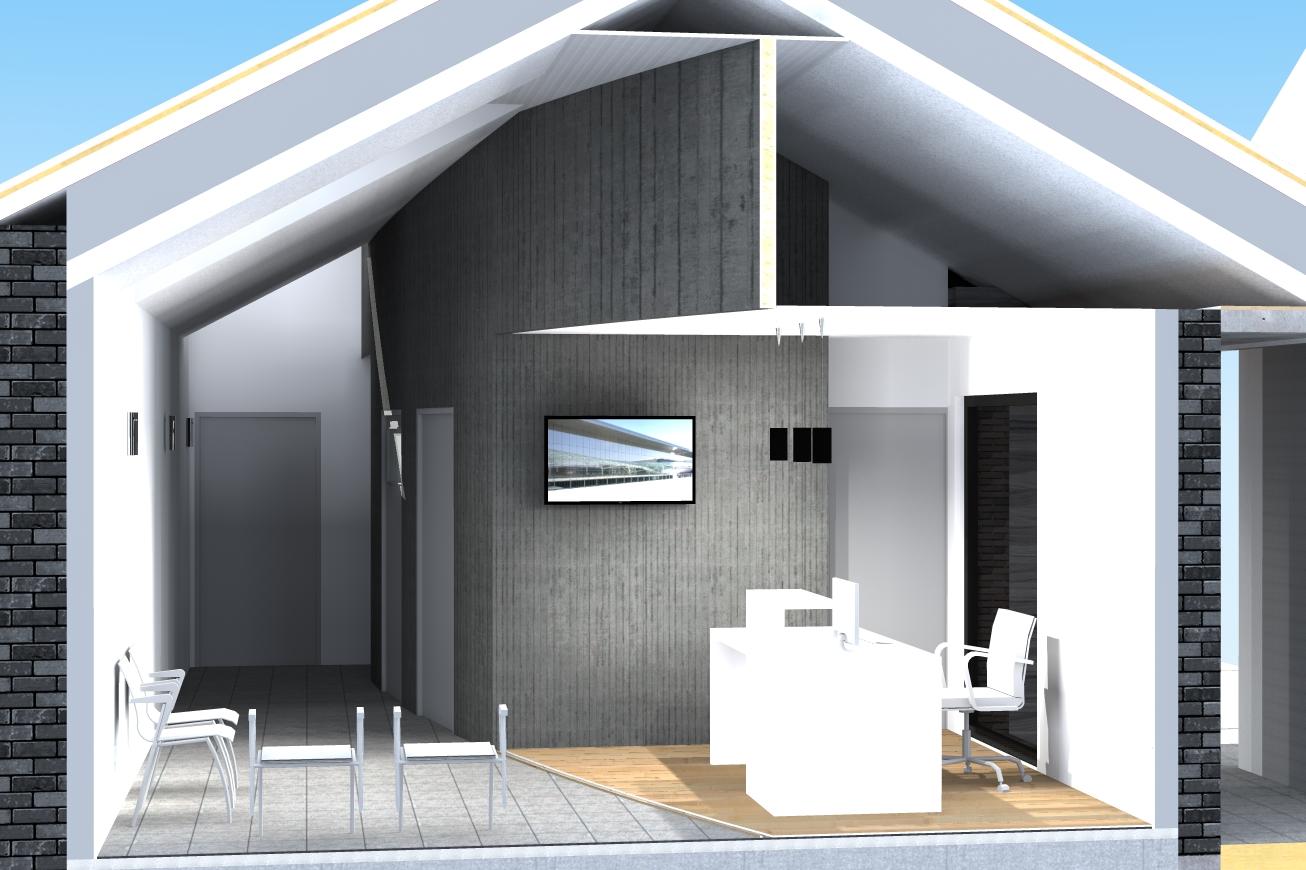 cr ation d un cabinet dentaire amiot arnoux architectes. Black Bedroom Furniture Sets. Home Design Ideas
