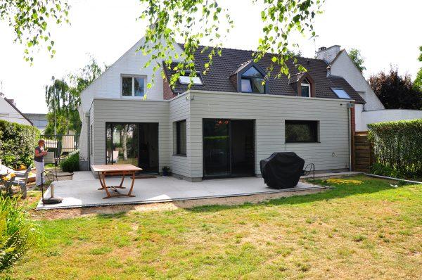 Extension d'une maison individuelle à Marcq en Baroeul