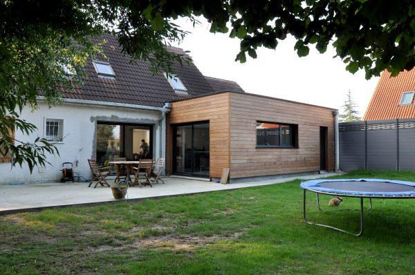 Extension d'une maison individuelle à Aubert