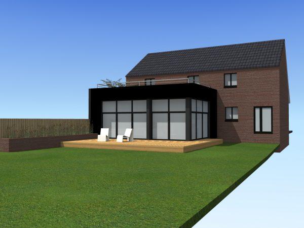 Extension d'une maison individuelle à Jeumont