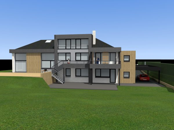 Relookage et Rénovation thermique d'une maison individuelle Croix