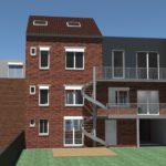 Transformation d'une maison en bureaux pour la sociéte NETIM