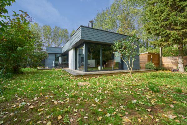 Rénovation complète et extension d'une maison individuelle à Willems