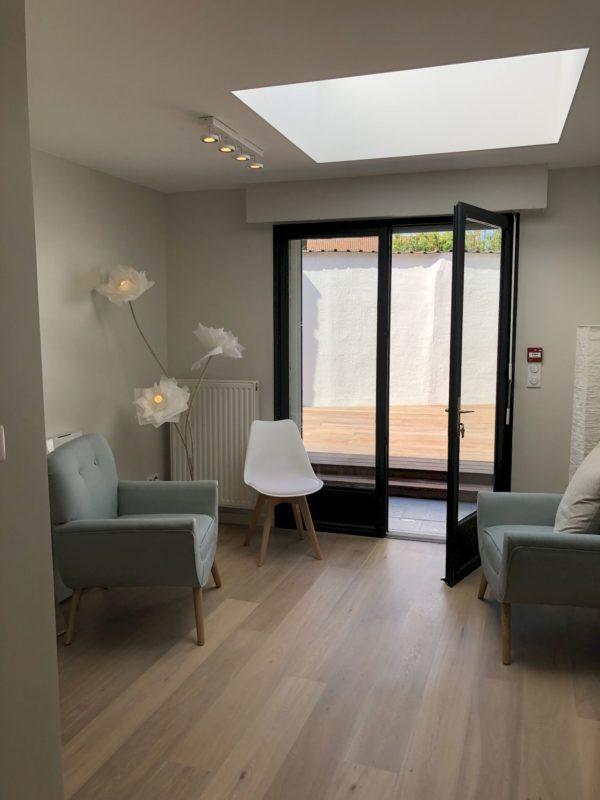 Transformation d'une maison en bureaux d'une conseillère en développement personnel à MARCQ-EN-BAROEUL
