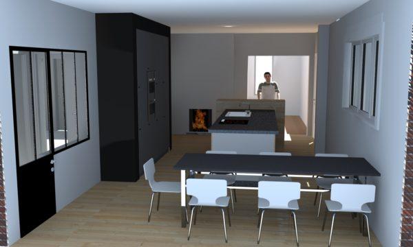 Rénovation et réagencement d'une maison individuelle à MOUVAUX