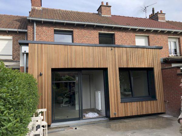 Transformation d'une maison en cabinet médical à Marquette-lez-Lille