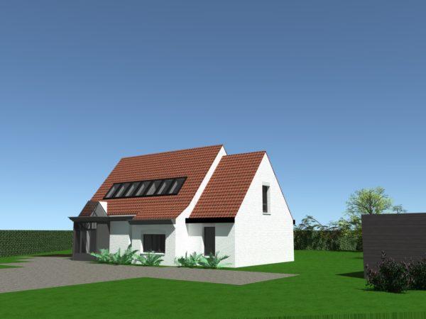 Extension d'une maison individuelle à MOUVAUX