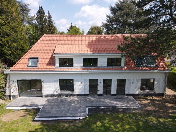 Rénovation lourde et extension d'une maison individuelle à Marcq-en-Baroeul